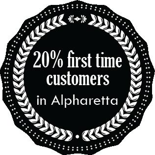 20% off Alpharetta